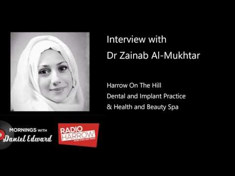 Look after your teeth! Interview with Dr Zainab Al-Mukhtar