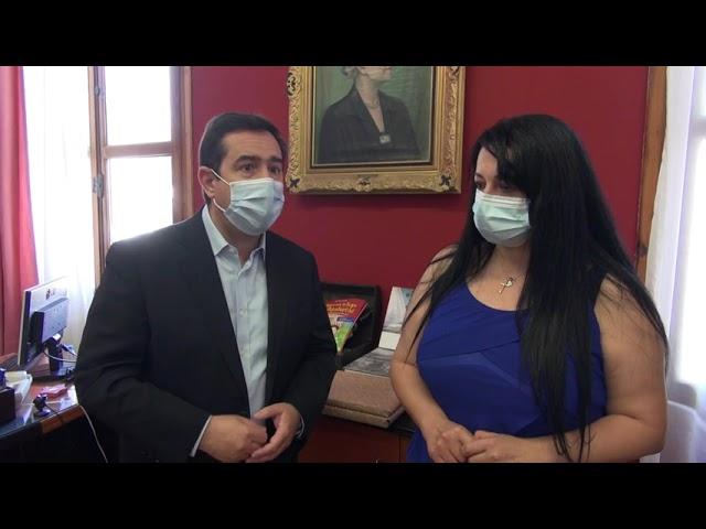 Νότης Μηταράκης Υπουργός Μετανάστευσης και Ασύλου,  Παναγιώτης Αρκουμανέας Πρόεδρος ΕΟΔΥ