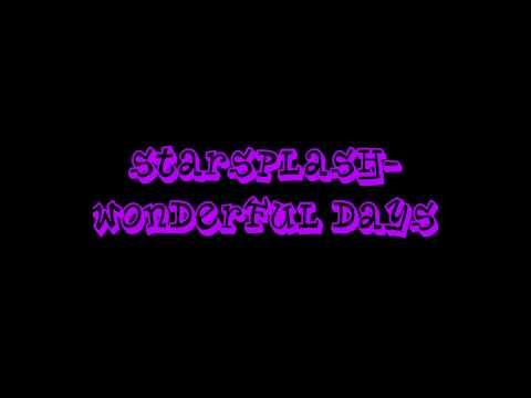 StarsplashWonderful Days  Ultimate Clubland A Decade In Dance