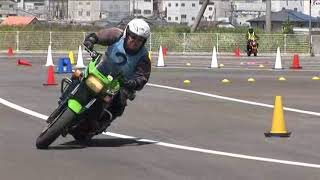 2018 5 20 MSGC Moto Gymkhana Training Tamatani 選手 ZRX1200R