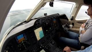 ILS Landing Ft. Lauderdale in a Beech Premier