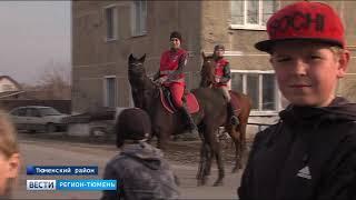 Конный патруль вышел на улицы Горьковки
