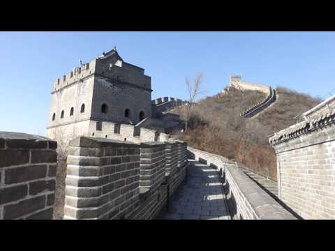60 - Beijing: Part 2 on descending the Great Wall