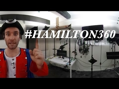 Guns and Ships 360° Cover #Hamilton360 by Zach Valenti