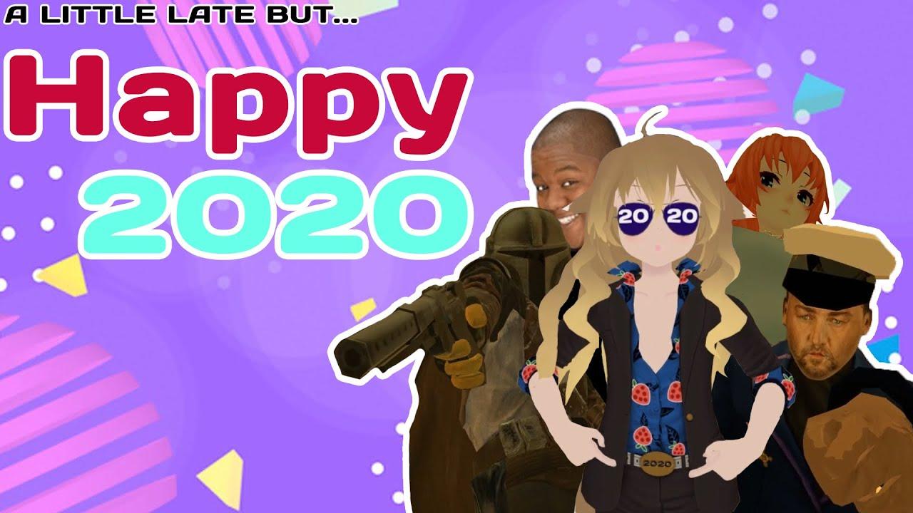 HAPPY 2020 - VRChat - YouTube