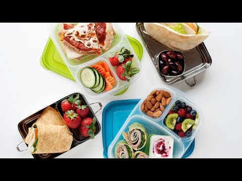 "How to Pack a Healthy Office Work Lunch or ""Big Kid"" Lunches"