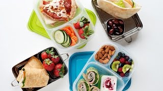 how to pack a healthy office work lunch or big kid lunches