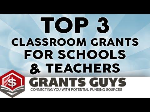 Top 3 Classroom Grants For Schools & Teachers