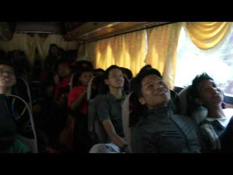 Karaoke in the bus! smkdabb CameronHighland trip. 2nd song