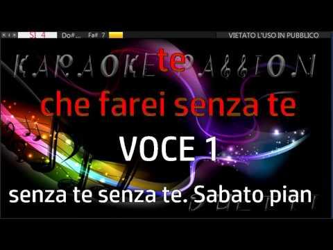 Sabato Pomeriggio (C. Baglioni)  Karaoke duetto