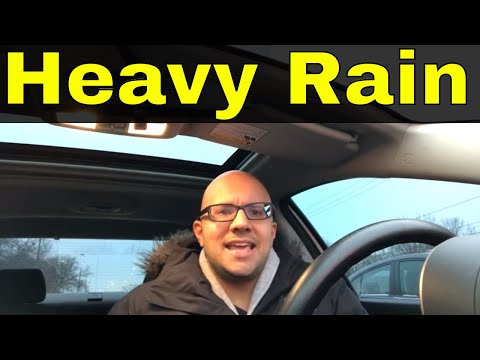5 Tips For Driving In Heavy Rain