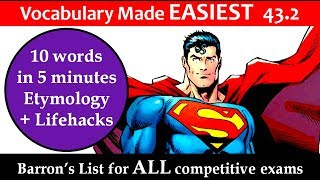 vocabulary made EASIEST 43.2 Learn Etymology by puneet biseria in hindi