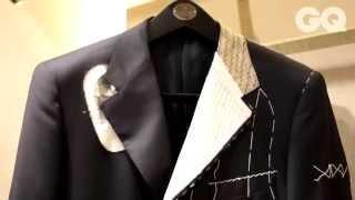 Секреты портного: как шьют итальянские костюмы в России(Портной Corneliani Брайн Нири делится секретами индивидуального пошива костюмов и работы с клиентами в Москве., 2014-03-15T06:24:55.000Z)