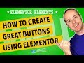 Elementor Buttons - All The Settings Explained And Demo'd