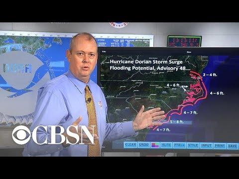 Hurricane Dorian Lashes South Carolina