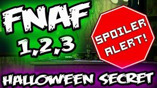 FNAF HALLOWEEN SECRET UPDATES! || *Spoilers* || Five Nights at Freddy's Halloween Update