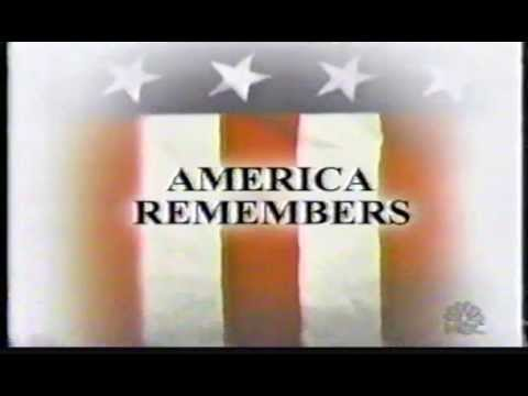 America Remembers: NBC News 911 1st Anniversary Special 9/10/02