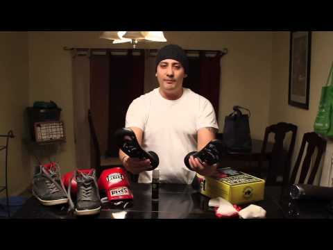 HOW TO: Clean / Dry Boxing Gloves or MMA gloves FAST