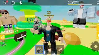 Giocho a Lifting Simulator: su ROBLOX