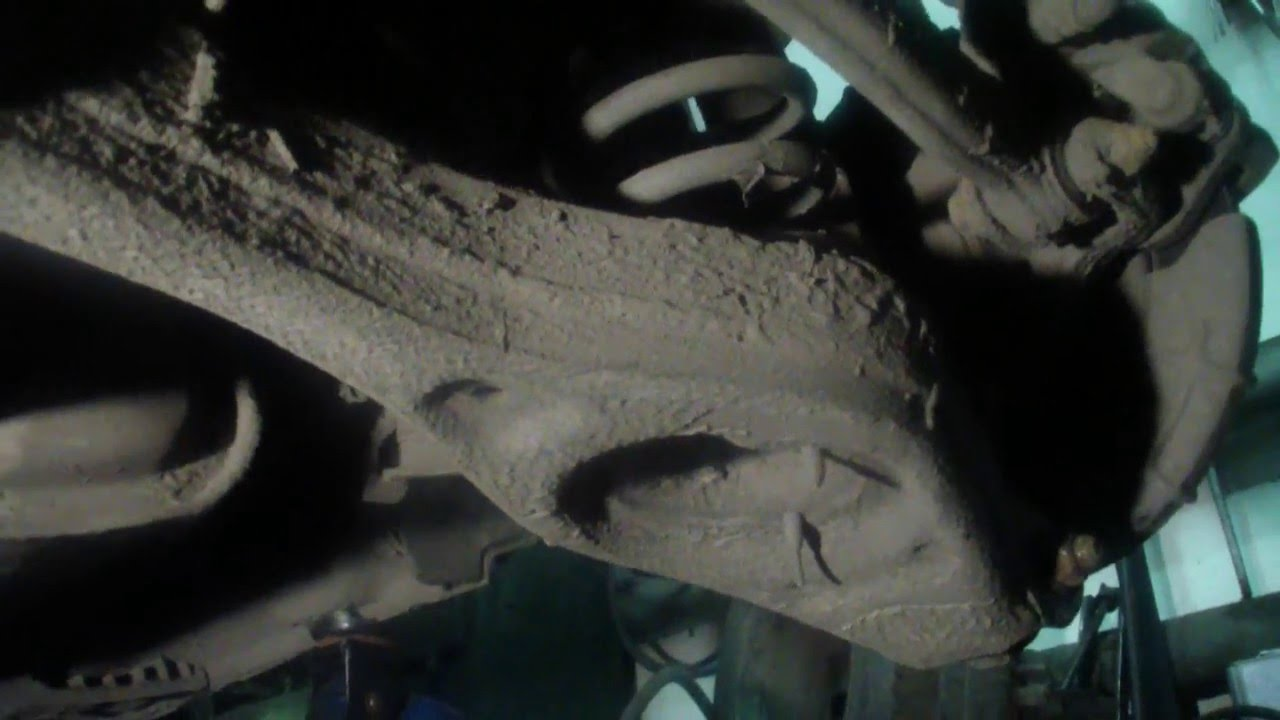 Замена передней балки киа сид 2011 Замена подвесного подшипника дастер 4 4