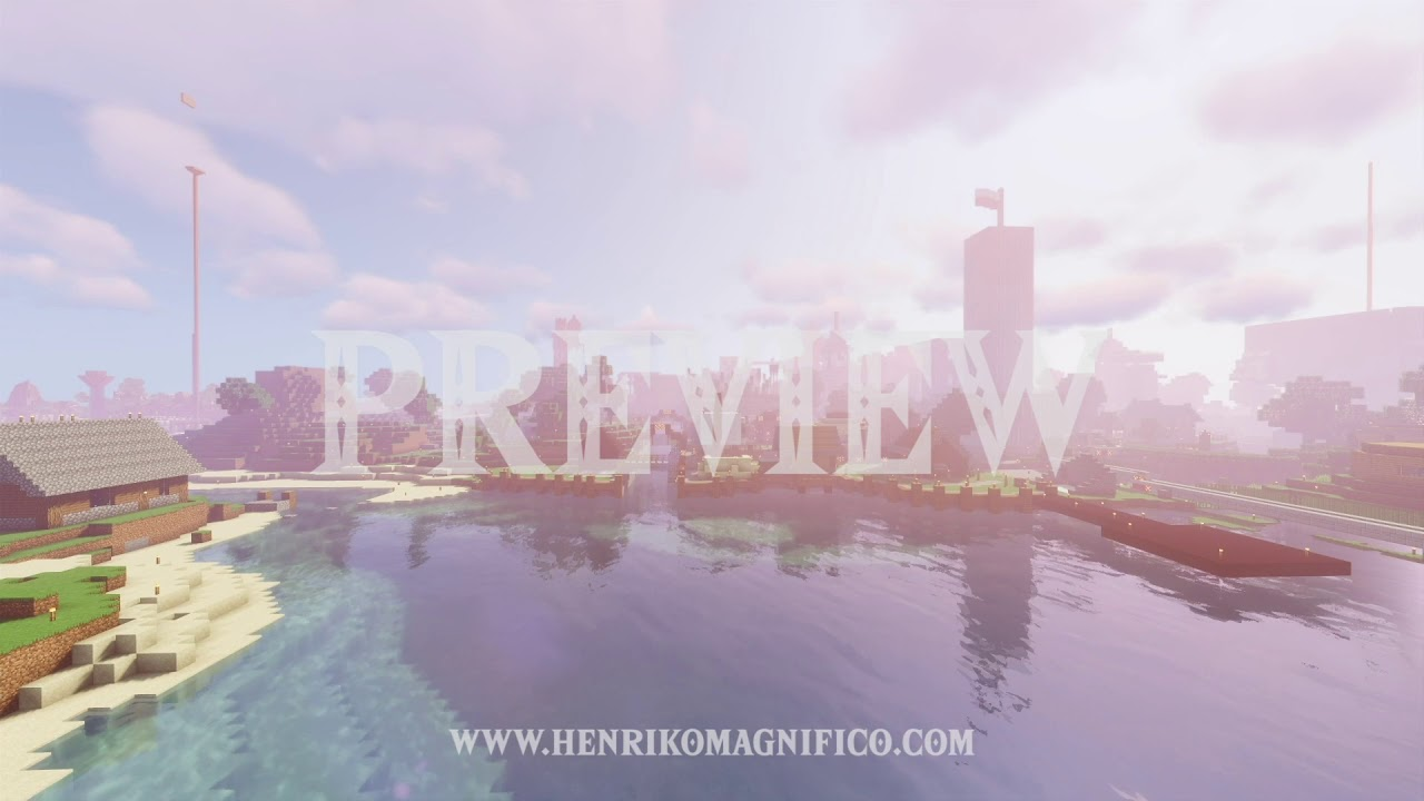 Minecraft (BITCraft Server, Daytime) - 1080p 60FPS Looping Background
