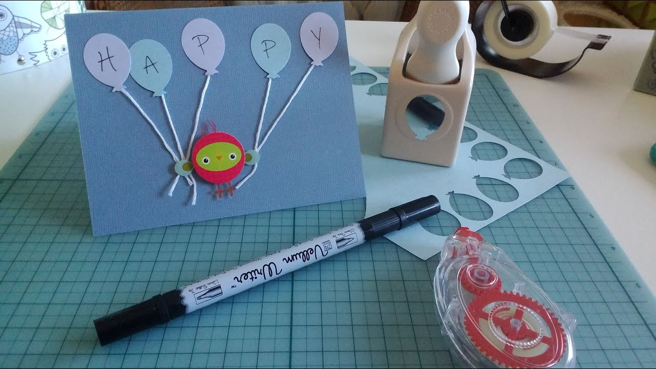 Simple DIY Birthday Card