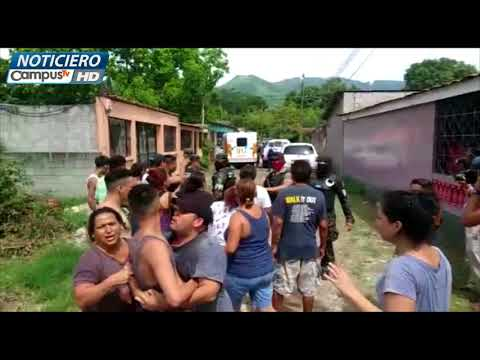 Imágenes inéditas tiroteo en Chamelecón, Honduras