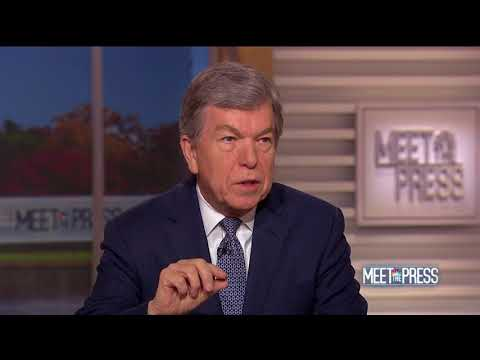 Blunt Joins Andrea Mitchell on NBC's Meet the Press 11/19/17