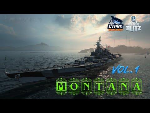 WOWS BLITZ Флот СТРАХ: Montana X