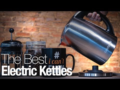 These are the best electric kettles you can buy