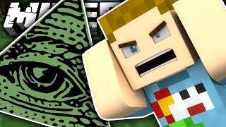 Minecraft: THE ILLUMINATI TROLL!! | CRUNDEE CRAFT