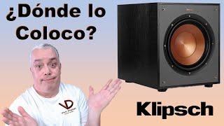 ¿Dónde suena mejor un Subwoofer? Klipsch R100SW Review