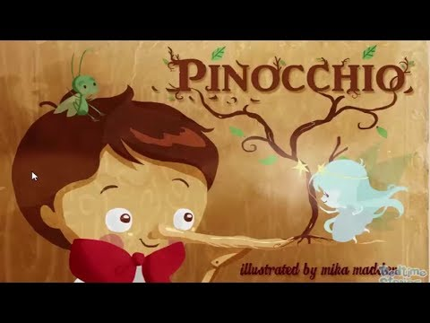 Video cerita dongeng pinokio si boneka kayu yang bisa bicara