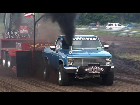 NHRDA Truck Pull Highlights - Tulsa Raceway Park