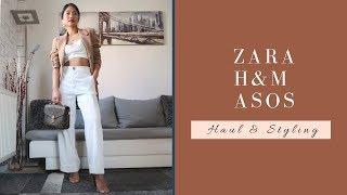 New In ZARA, H&M, ASOS   Haul & Styling  #springfashion2019 #zarawoman #zara #zaranewin #hm #asos