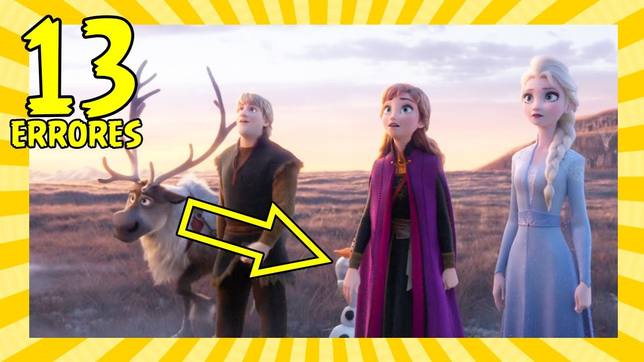 13 Errores en Frozen 2 que Quizás No Notaste (Movie Mistakes)