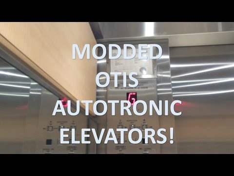 "OTIS Autotronic Traction ""D"" Elevators @ Mississauga Hospital"