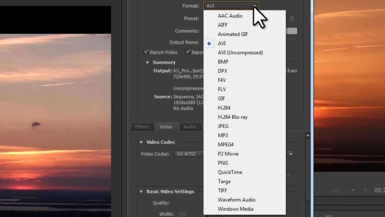 Adobe Premiere Pro CS6 - Save(Export) Video [Tutorial