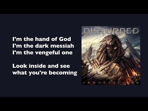Disturbed - The Vengeful One (with lyrics)