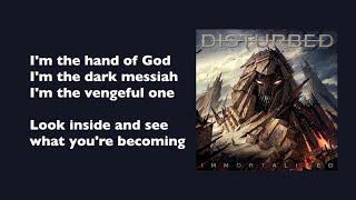 Disturbed The Vengeful One with lyrics.mp3