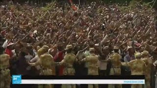 مظاهرات تطالب بالحرية تتحول إلى أعمال عنف وتخريب في أثيوبيا