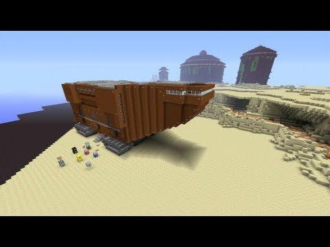 Minecraft Xbox - Tatooine - Star Wars World Tour - Part 2