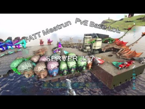 Ark PS4 / Wiping A Juicy PVE Ocean Base While Scouting! Pvp Official Server 257