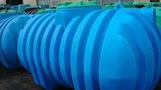 видео Емкости для канализации