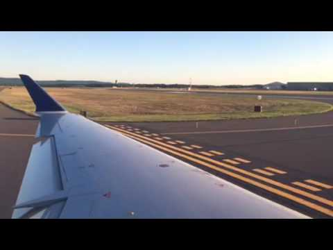 Delta Airlines CRJ-900 Takeoff From Hartford-Bradley Airport!