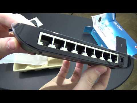 TP-LINK 8-Port Gigabit Unmanaged Switch Unboxing & Teardown
