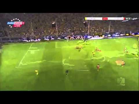 Daniel Van Buyten Own Golazo!   Dortmund 2 1 Bayern Munich ) 27 07 2013