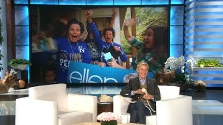 World Series Superfans Get Tickets from Ellen!