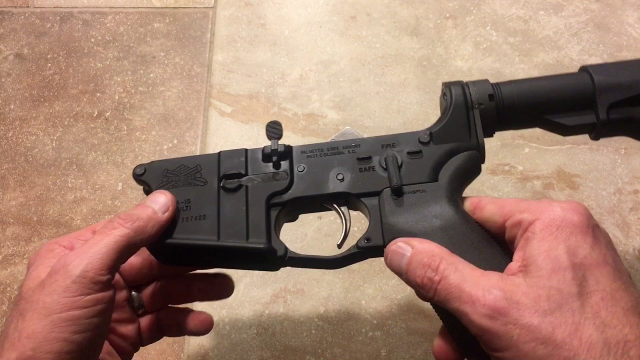 Palmetto State Armory AR15 MOE EPT LOWER