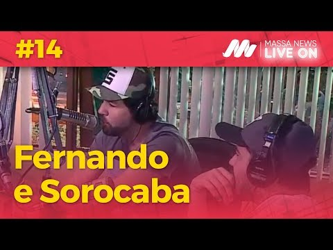 Fernando e Sorocaba no Massa News LIVE ON #14